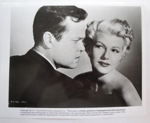 forlovelyritahayworth:  Rita Hayworth and Orson Welles