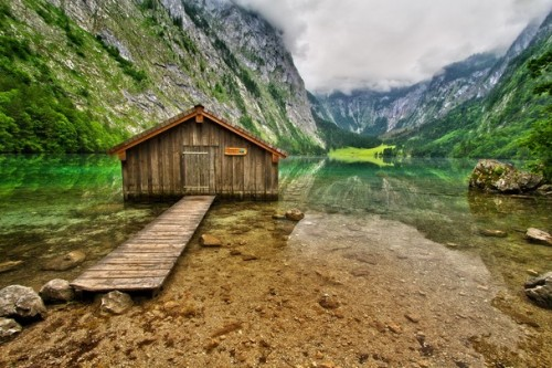 Lake Oberssee (near Lake Konigssee) in Germany. (via Outdoor Scenes - Week 8 Gallery - Traveler Photo Contest 2011 - National Geographic)