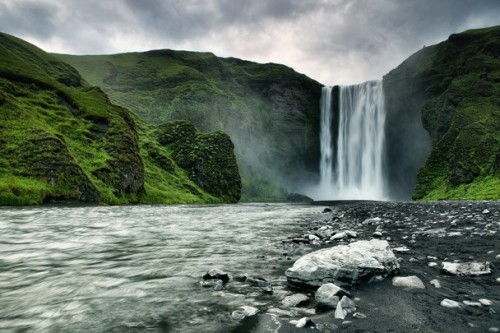 Skógafoss, Iceland (via Outdoor Scenes - Week 8 Gallery - Traveler Photo Contest 2011 - National Geographic)