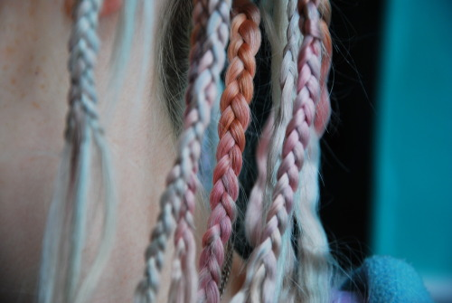 truecat:  pastel plaits