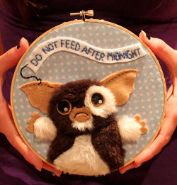 laughingsquid:  Gremlins Applique