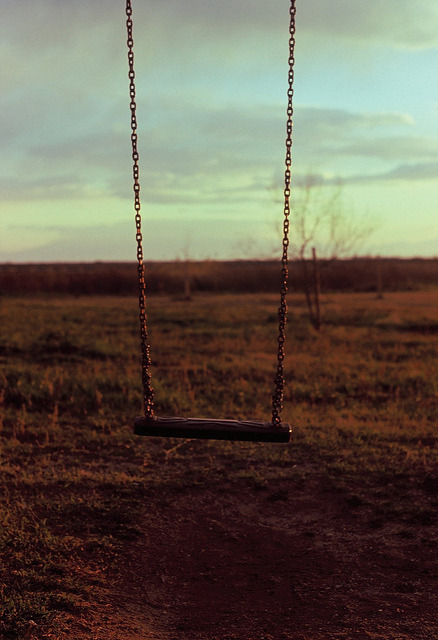 date16th:  Suspended by dkilim on Flickr.  Oh, lonesome swing…