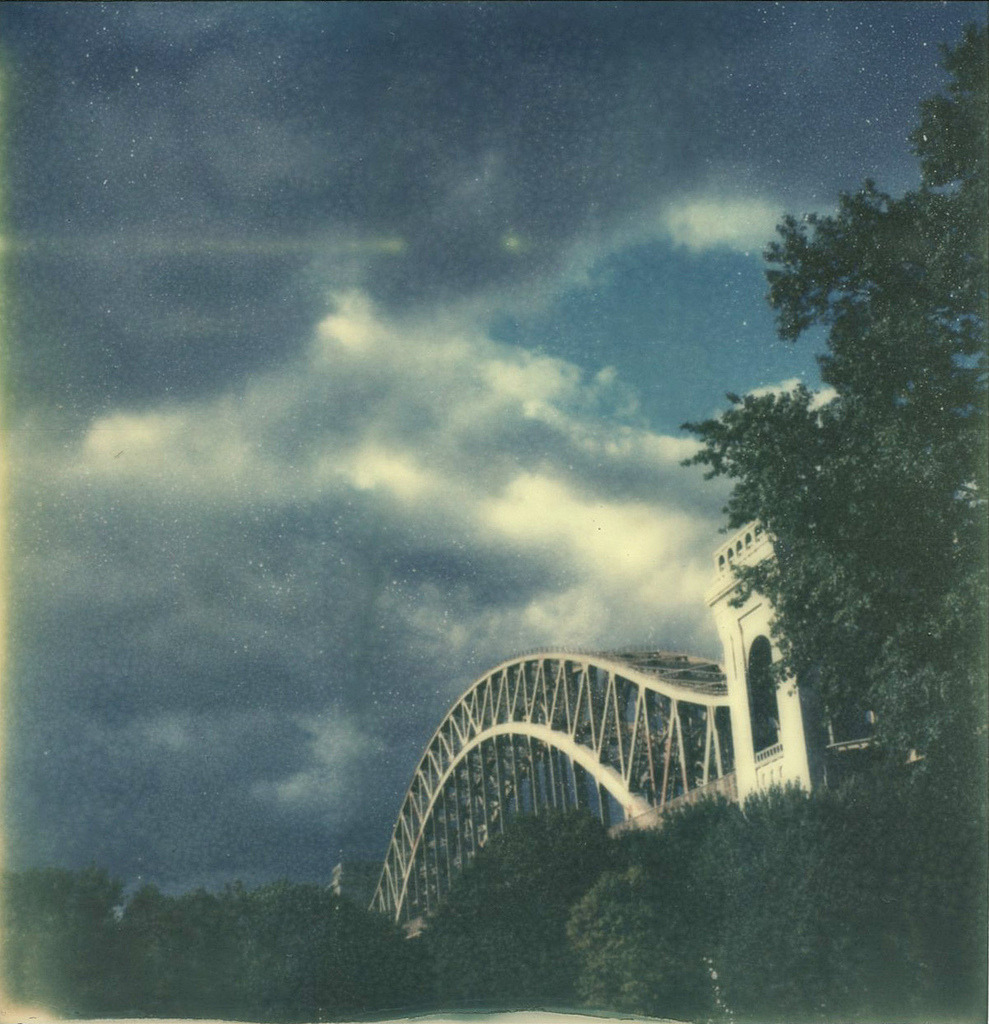 still here in little astoria.. polaroid px70