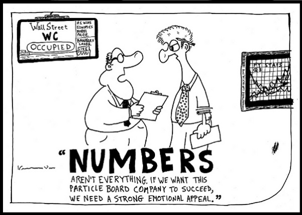 Business numbers editorial cartoon and top ten jokes by laughzilla for the daily dose.