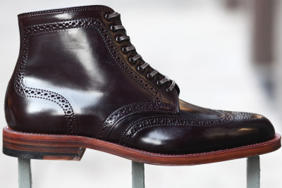 Alden for Epaulet Brixton Boot Color 8 with Light Sole