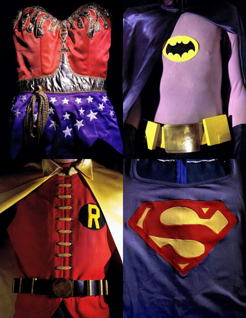 totalfilm:  Original '60s/'70s Superhero Costumes Vintage loveliness from How To Be A Retronaut.