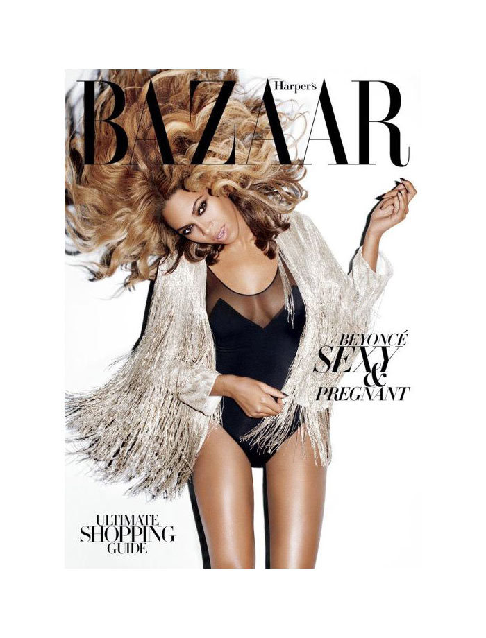 fashiongonerogue:  (via Beyonce Covers Harper's Bazaar US November 2011 by Terry Richardson)