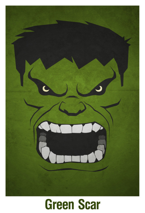 The Incredible Hulk! I liked how this one came out so much that I'm making a shirt out of it.