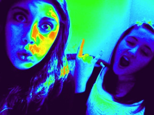 We're so cool. Oh my gosh.