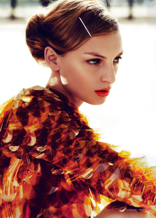fdmLOVES: rose smith | prada by emma tempest |vogue russia via [fashion gone rogue]