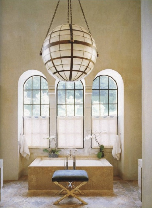 A divine bathroom that is simple yet stunning (via McAlpine, Booth, & Ferrier Interiors - About)