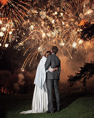 Wedding photo… fireworks (via A Proper English Wedding - ** Happiness Is…**)