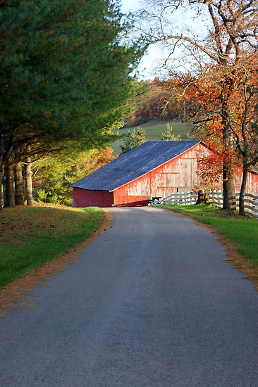 "Autumn in Kentucky (via ""Kentucky Barns"" by naturevine 
