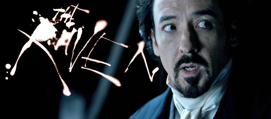 John Cusack plays Edgar Allen Poe in James McTeigue's The Raven - watch the first official trailer.