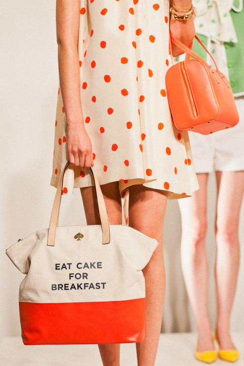 timmelideo:  I was lucky enough to attend the Kate Spade 2012 spring preview today for Glitter Guide. It was awesome. This was my favorite outfit, naturally. More pics to come!