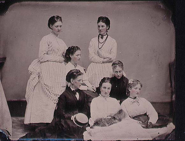 Sisters? by National Library of Ireland on The Commons on Flickr.