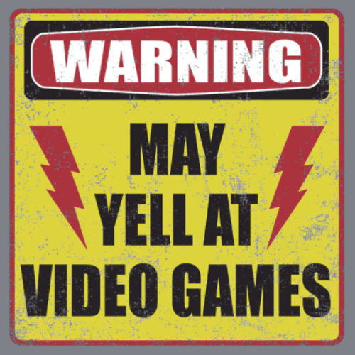 "the-rbc:  ""Gamer Warning"" by Buzatron 
