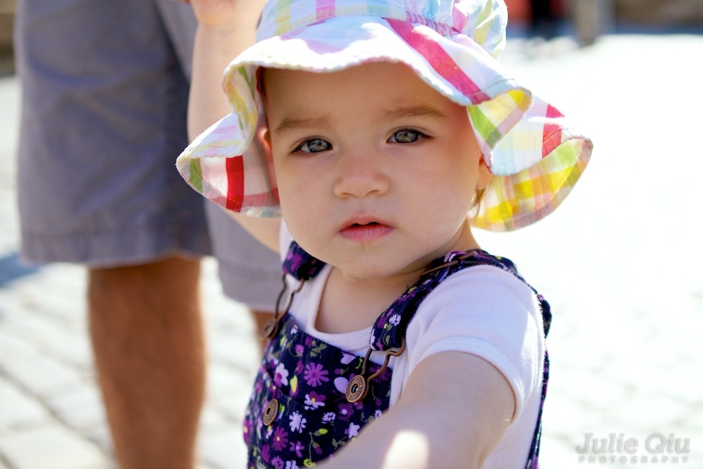 Baby Liv at #GoodFoodFest 2011 by @BasisFoods in the Gansevoort Plaza