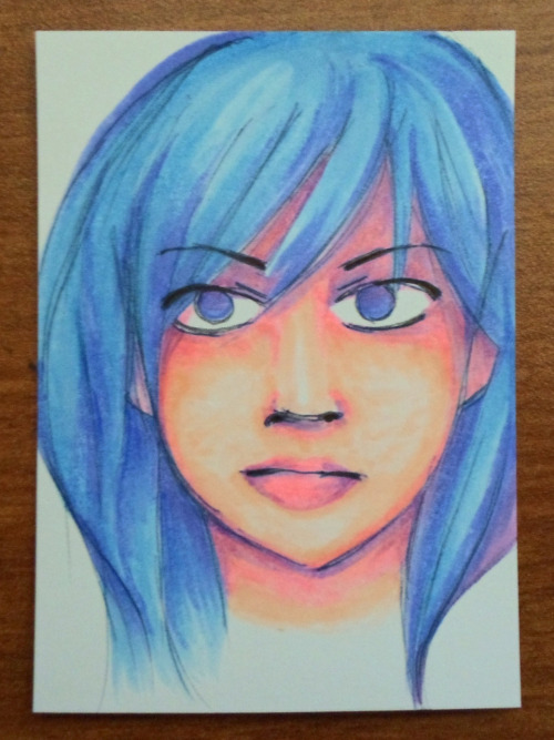 ACEO #11 for sale on ebay - Price starts at $9.99.. Honestly this is one of my favorites :) http://www.ebay.com/itm/250909551155 This lot ends in around 3 days. I will definitely put more up if it sells. Note: These ACEOs are all original; I do not sell prints. Thank you for supporting a starving student!  http://search.ebay.com/?sass=wchau