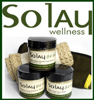 Company: Solay WellnessProducts: Gentle Face Scrub, Detoxifying Mud Mask, and Organic Face Lotion Verdict: 5/5! Do you ever look longingly at those commercials made for those beautiful, expensive spas (what an understatement..) where a beautiful lady is getting a facial, with creams that look as smooth as butter and exfoliators that seem like they were made fresh just for her? Yeah, me too. However, lucky for us beautiful ladies who just can't afford their own signature exfoliator, there is a luxurious solution waiting to be discovered.  Solay Wellness. A beautiful company made for beautiful women just like you! Their affordable spa-experience products are vegan, natural and handcrafted in small batches to help give you the healthy, happy skin you deserve. Because of their wide range of products, you're able to come up with the perfect formula of a relaxing, at-home spa day. One of my favorite ways to relax in a tub full of bubbles starts off with the Gentle Face Scrub. Mixed with the most luxurious ingredients of small organic jojoba beads, calcium bentonite clay, and a moisture enriched organic base, gives this luxury a beautifully rich, earthy scent. I massage this gentle blend in a small circular motion to already cleansed, warm skin (to help open up your pores). After about 3 or so minutes of gentle scrubbing I wash it off with a few splashes of warm water. My skin instantly feels refreshed and revitalized, like I have a whole new set of skin on! Next, I grab my Detoxifying Mud Mask- a product that is enough to make me swoon. It has a deep, natural scent that instantly puts me into relaxation mode. I gently rub this creamy mask all over my face and mask, not missing a single spot. The texture is so creamy and smooth, I  swear I could just keep applying, re-applying, applying, re-applying… you get the picture. I like to leave this on for about 10-15 minutes- if I could I would live with it on, but that would just be silly (and a little unsanitary).  After rinsing thoroughly I'm quick to grab the Organic Face Lotion. You thought those lotions on the commercials looked creamy? This is utterly divine. It smells fresh and feels even fresher. I gently massage this buttery delight (theoretical vegan butter of course) all over my face. I specifically love this lotion because of its light feel- it doesn't make your skin appear or feel like grease (and I don't mean the good John Travolta variety) All in all, Solay Wellness is a company of virtue. Their products are high quality, and their values of natural, vegan organic, and handmade assets are a huge bonus! I really recommend checking out their website, and taking a snoop through their other luxurious products!  The Lowdown;  Pros Luxurious, spa-like products, without the sky-high price  Organic and natural  Handmade Vegan Not tested on animals  Cons If you were to experience these products, I think you could agree that cons are nearly impossible!  www.SolayWellness.com