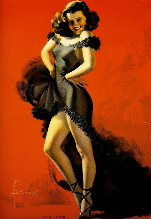 How Am I Doing by Rolf Armstrong 1940