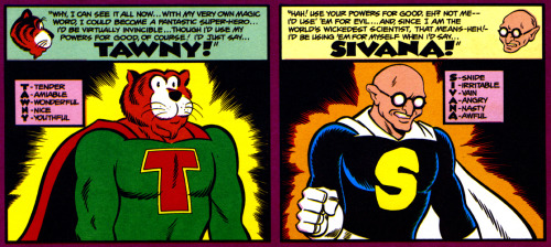 Super-powered Tawny and Sivana (not sure where this is from).