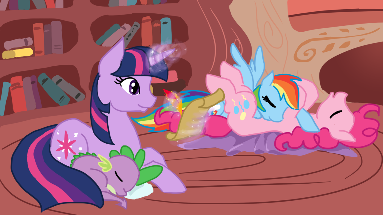 "pureponypleasure:  ""Dear Princess Celestia,  Today I learned that sometimes, no matter how well you think you  know your friends, there may still be things you just never knew about  them before. Just because you know something new about them doesn't mean  they've changed though, because they are still the same as before you  knew. Your faithful student,  Twilight Sparkle."" (this was a comment on ponibooru by AdrianBrony. he is pretty okay. I thought that it fit the image perfectly, so I used it.)"