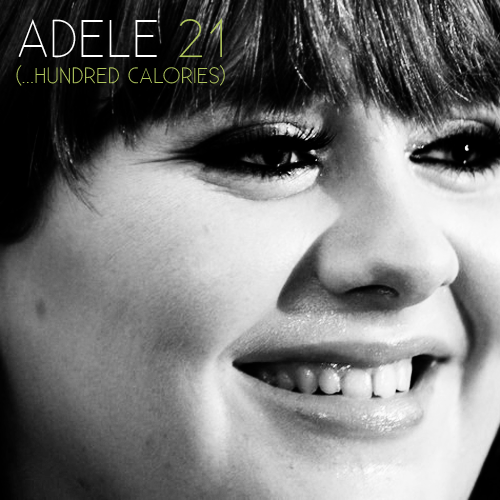 "On December 18th, just in time for the holiday season, ADELE will re-release her massively successful sophomore album, ""21"", with entirely new versions of each original song. In an effort to further show off her wide range of vocals, the new LP, aptly named ""21 (…Hundred Calories)"", will cost $19.99 (not to be confused with ADELE's weight) and will include the following tracks: Rolling In The Deep Fryer Rumor Has It I Love Cake Turning Tables So I Don't Have To Get Up Don't You Remember Those Pancakes ('Cause I Do) Set Fire To The Barbeque He Won't Go To Burger King Eat It All (Like I Do) I'll Be Waiting For Dinner One And Only Reese Cup Left Loveburger Somone Likes Food (Me) To honor this momentous occasion, Walmart will be holding a special sale on December 22nd, where you will be able to buy ADELE's new, sure to be huge, LP and receive two free honey hams for your family's upcoming Christmas dinner. Starting tomorrow, you can pre-order the new LP here."