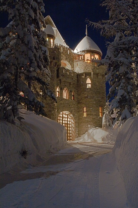 faerypotter:This is a castle built by Castle Magic in Sandpoint, Idaho. We visited the castle last year; it's beautiful.