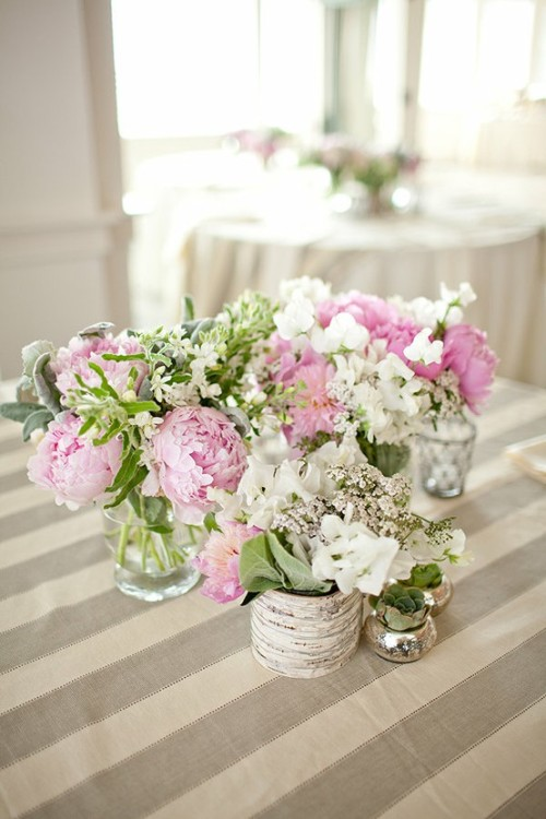 lovely floral centerpiece
