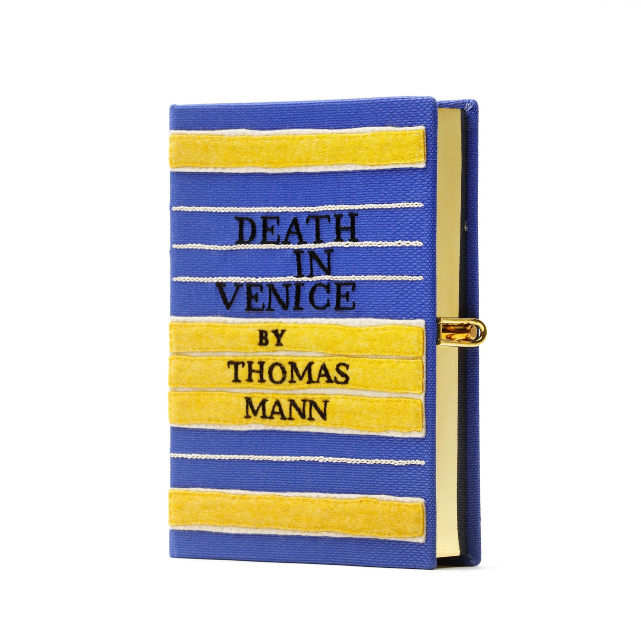 Death in Venice book-clutch by Olympia Le-Tan.