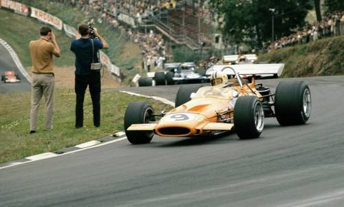 Denny Hulme at the 1970 British Grand Prix