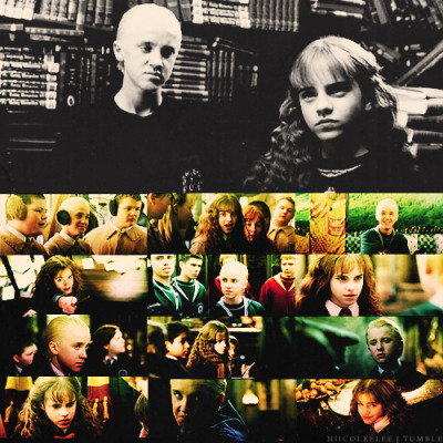 niicoleelee:  40 Days of Dramione  Day Four - Favourite Chamber of Secrets Caps