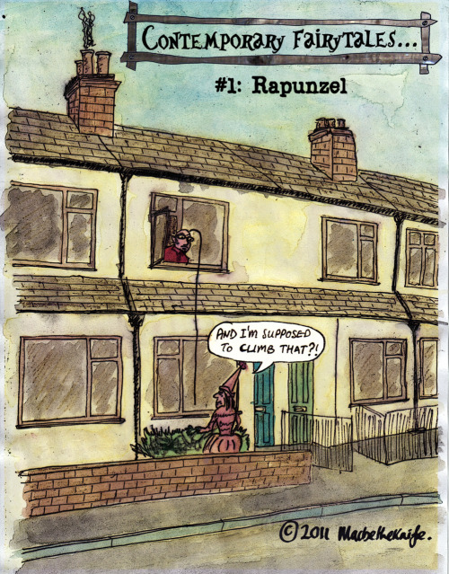 Contemporary Fairytales: 1. Rapunzel…
