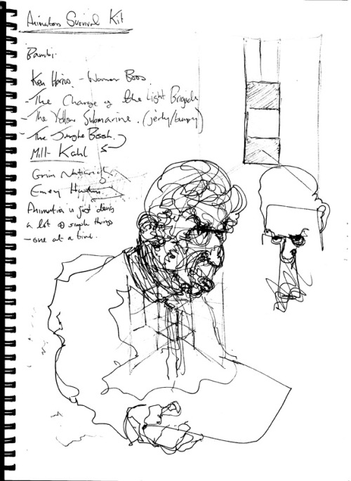 Image from my sketchbook. Drawing of Dr Conrad Murray's defense lawyer in the current Michael Jackson Case. Copyright © Sam Gallowaywww.samgalloway.tumblr.com