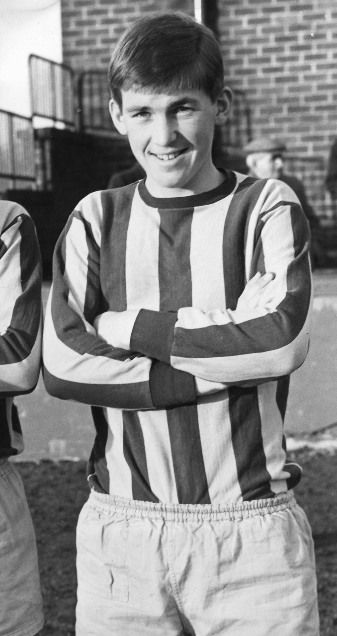 Teenage Kenny Dalglish.