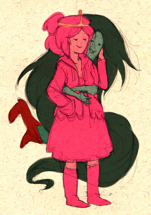 Princess+bubblegum+and+marceline+fanfiction