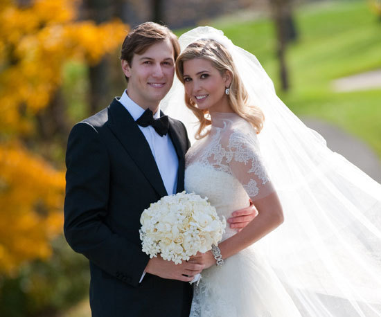 Celebrity wedding: Ivanka Trump and Jared Kushner