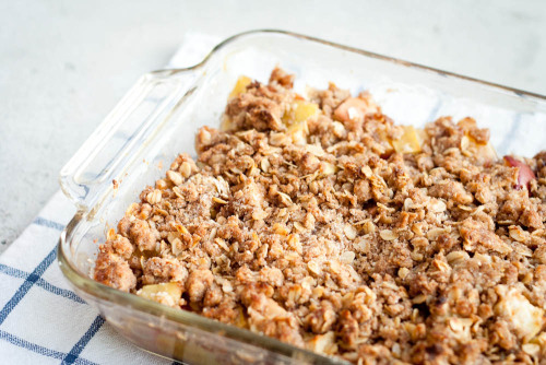 celebratewithcake:  Chai-Spiced Apple Crumble  Prepare for an influx of yummy Fall-foods.