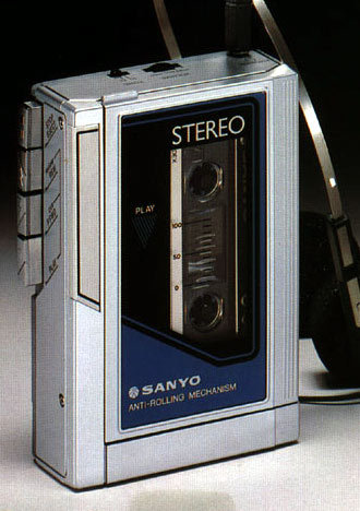 "Sanyo M-G15A - this was the first ""walkman"" that I ever owned way back in 1985."