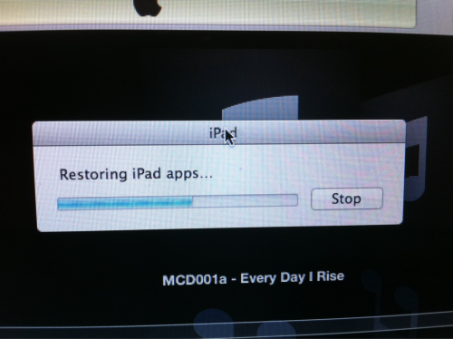 Yes. I might miss my flight waiting for my iPad to restore after installing iOS5. Oh well.