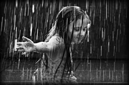 I never played inside as a kid - even in the rain I'd go out.