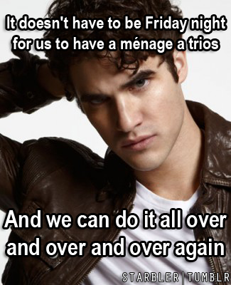 starbler:  Darren Criss Pick Up Lines
