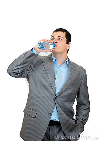 """Oh that's good! Spitting on Occupy Wall Streeters makes me SO thirsty."""