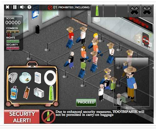 This game called Airport Security was no fun at all. I felt like i was in a high state of confusion during the whole time. At points I had to take clothing off of random people which doesn't happen in real airport security. And take certain objects out of people's carry on bags. My first question about this game is why are people taking snakes and conch shells in their carry on bags. It thoroughly confused me and i failed immediately. Games like this aren't supposed to be fun, but more of a way to cause high blood pressure and heart failure. In the end, no this game wasnt fun, but more like a huge waste of time on my part.