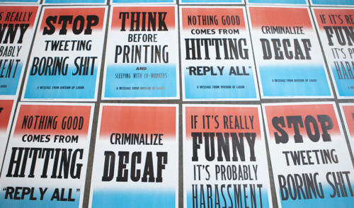 "fastcompany:  ""Stop Tweeting Dumb Sh*t"" And Other New Workplace Rules  My favorite - ""If it's really funny, it's probably harassment"". SO TRUE."