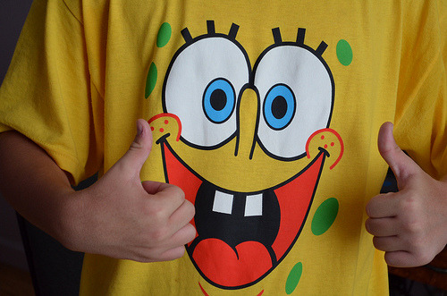 h0tpizza:  Spongebob shirt (by -infuckti0n)