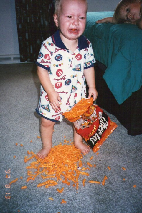 lolsofunny:  this kid is too young to know pain like that via lolsofunny=)
