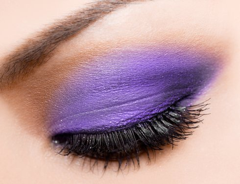 Purple MAKEUP:):)