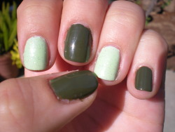 Glow in the Dark Green Accents Icing - Mint Hot Topic Polish - Green Glow in the Dark China Glaze - Westside Warrior